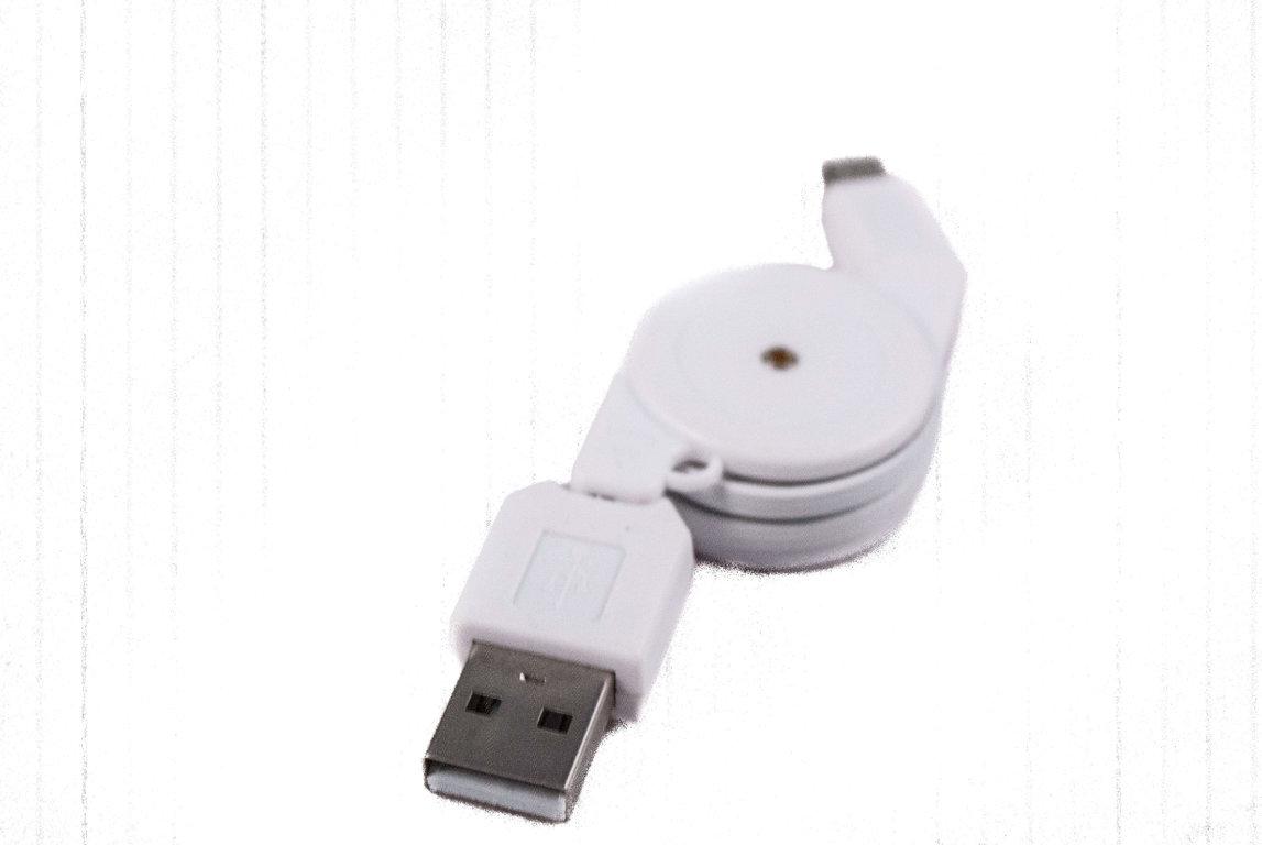 Kompakts micro USB lādētājs priekš vairuma viedtālruņu