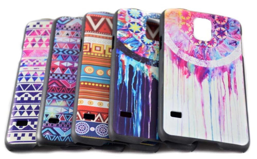 Thin & colorfull hard plastic phone case for Samsung Galaxy S5