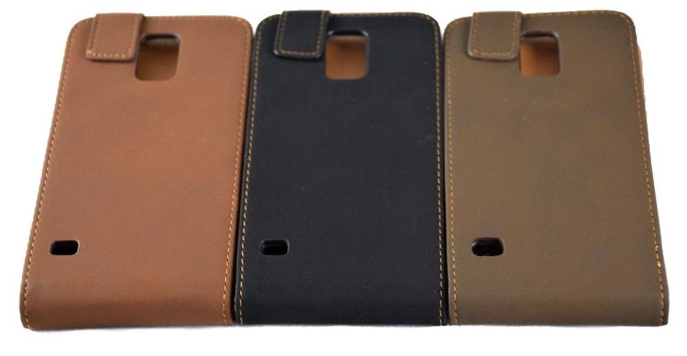 Business class flip leather case for Samsung Galaxy S5