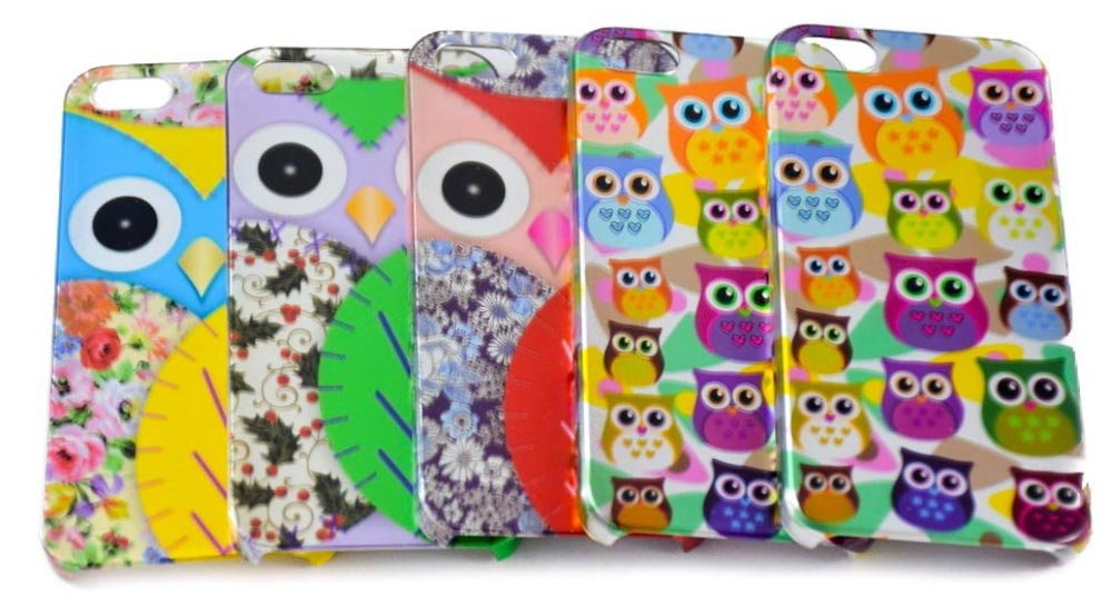 Colorfull hard plastic phone case for iPhone 5/5s